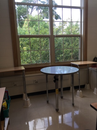 Dry Erase Table - Standing Zone